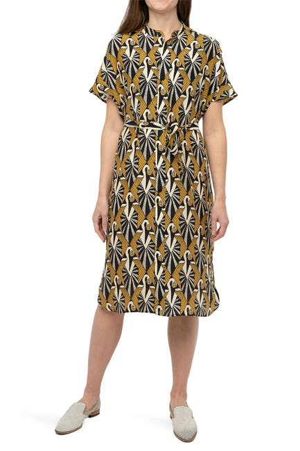 Image of Billy Reid Printed Silk Dress