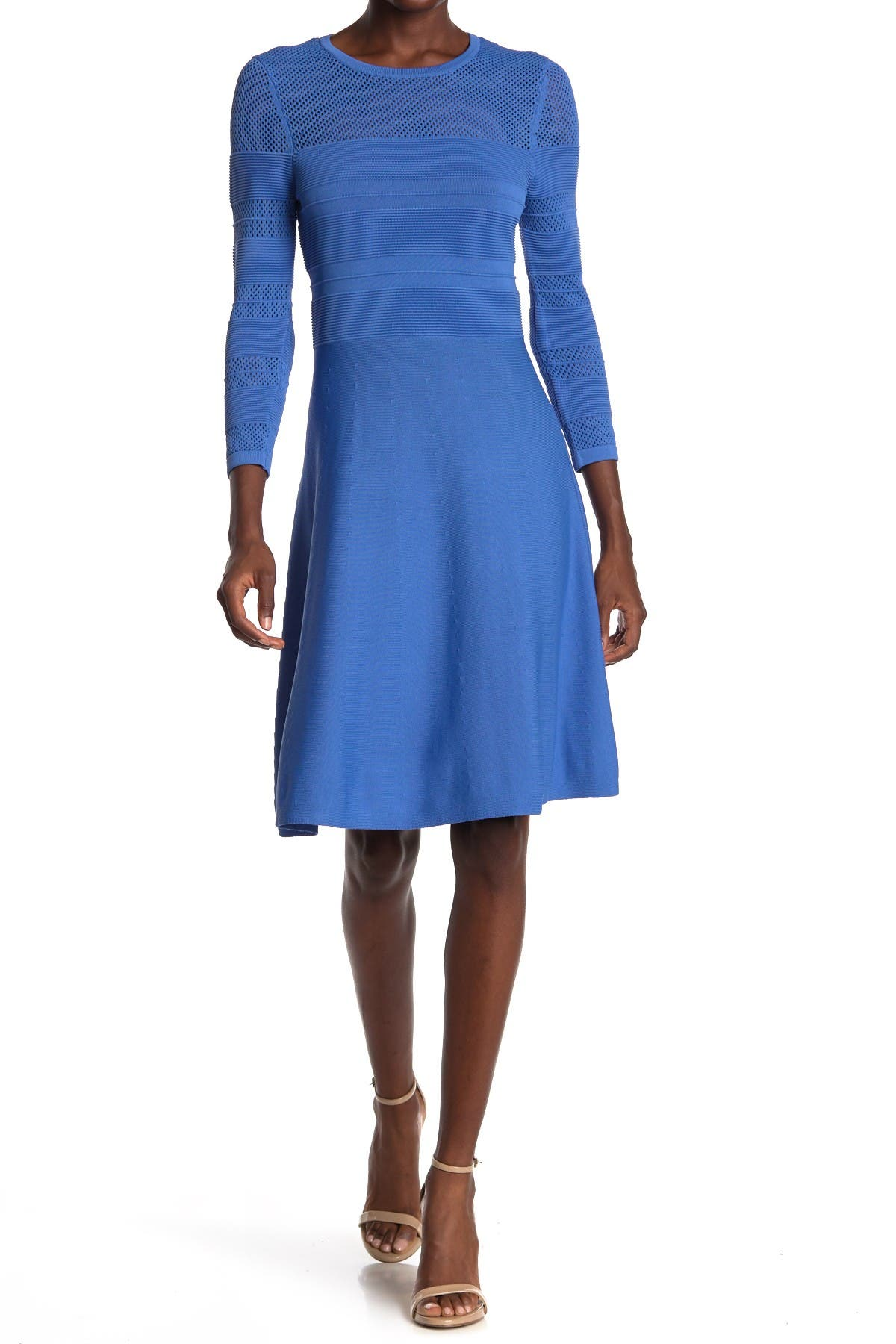 Image of Vince Camuto Fit & Flare Sweater Dress
