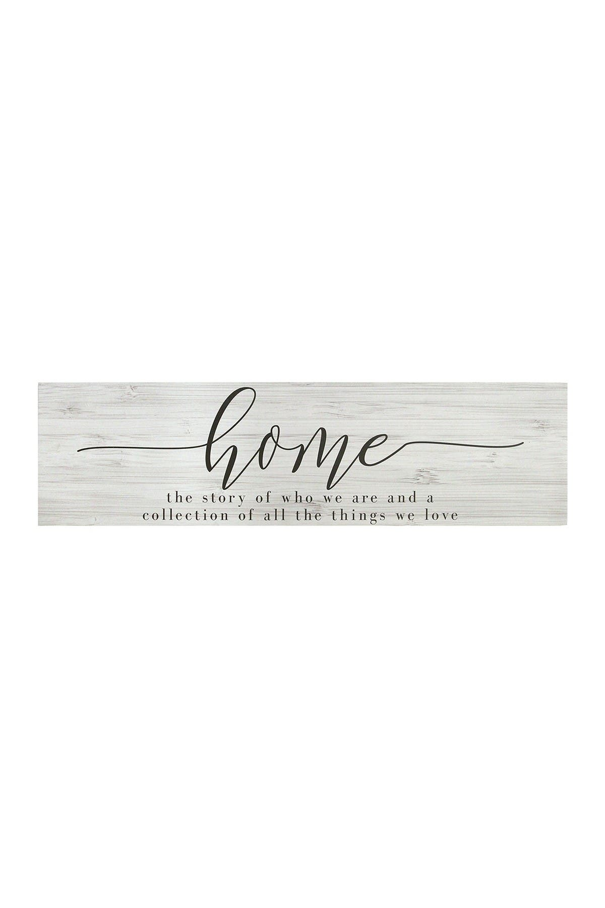 Image of Stratton Home White Home Quote Oversized Wall Art