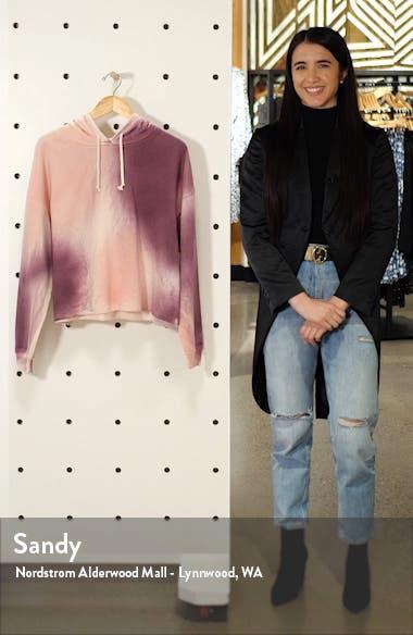 Tie Dye Hooded Sweatshirt, sales video thumbnail