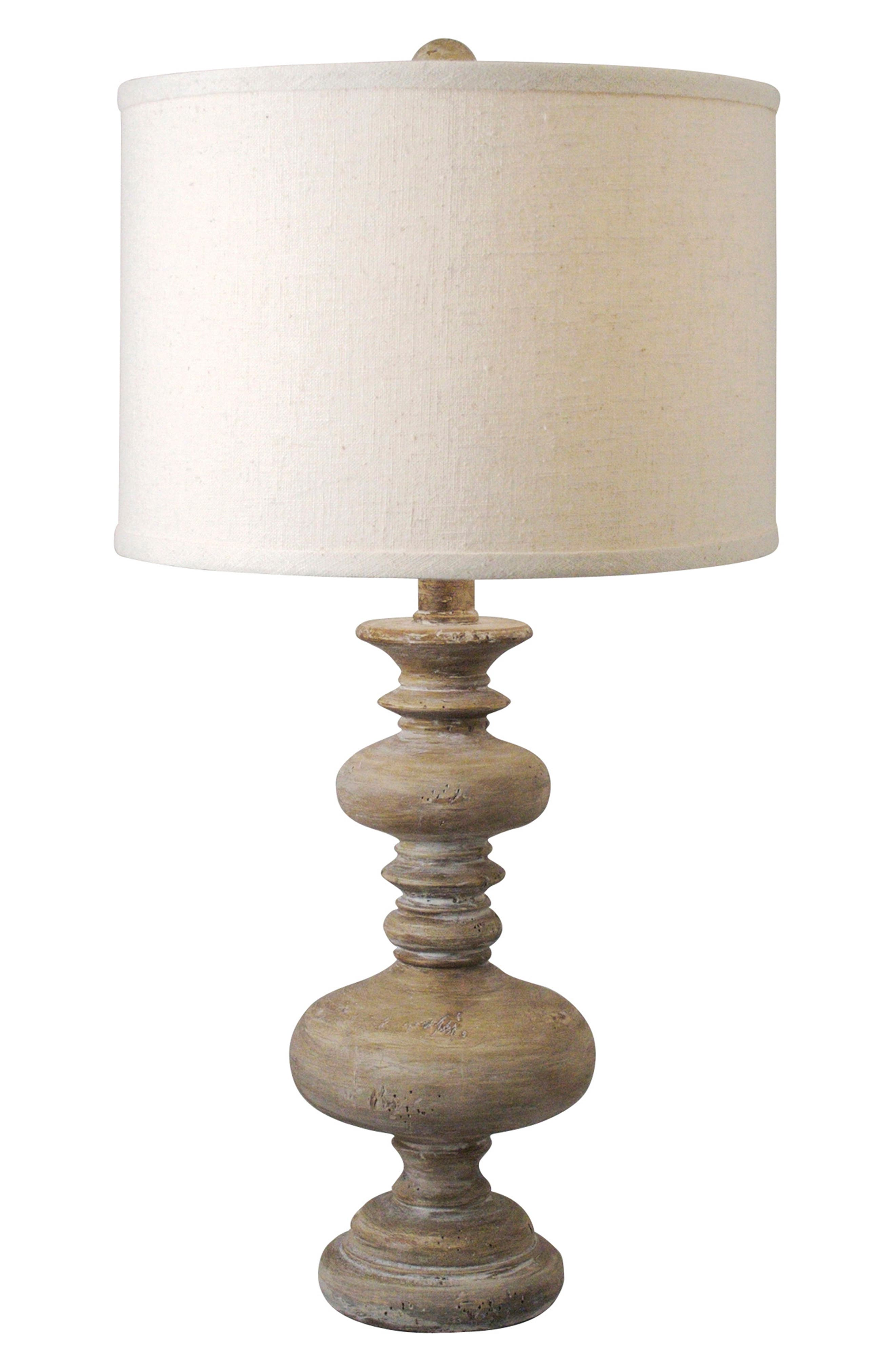 Regina Andrew Design Turned Spindle Table Lamp Size One Size  Brown