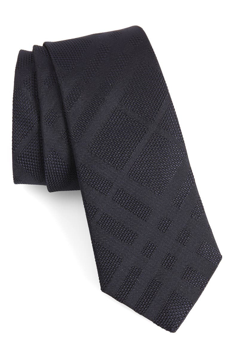 BURBERRY Manston Silk Tie, Main, color, BLUE