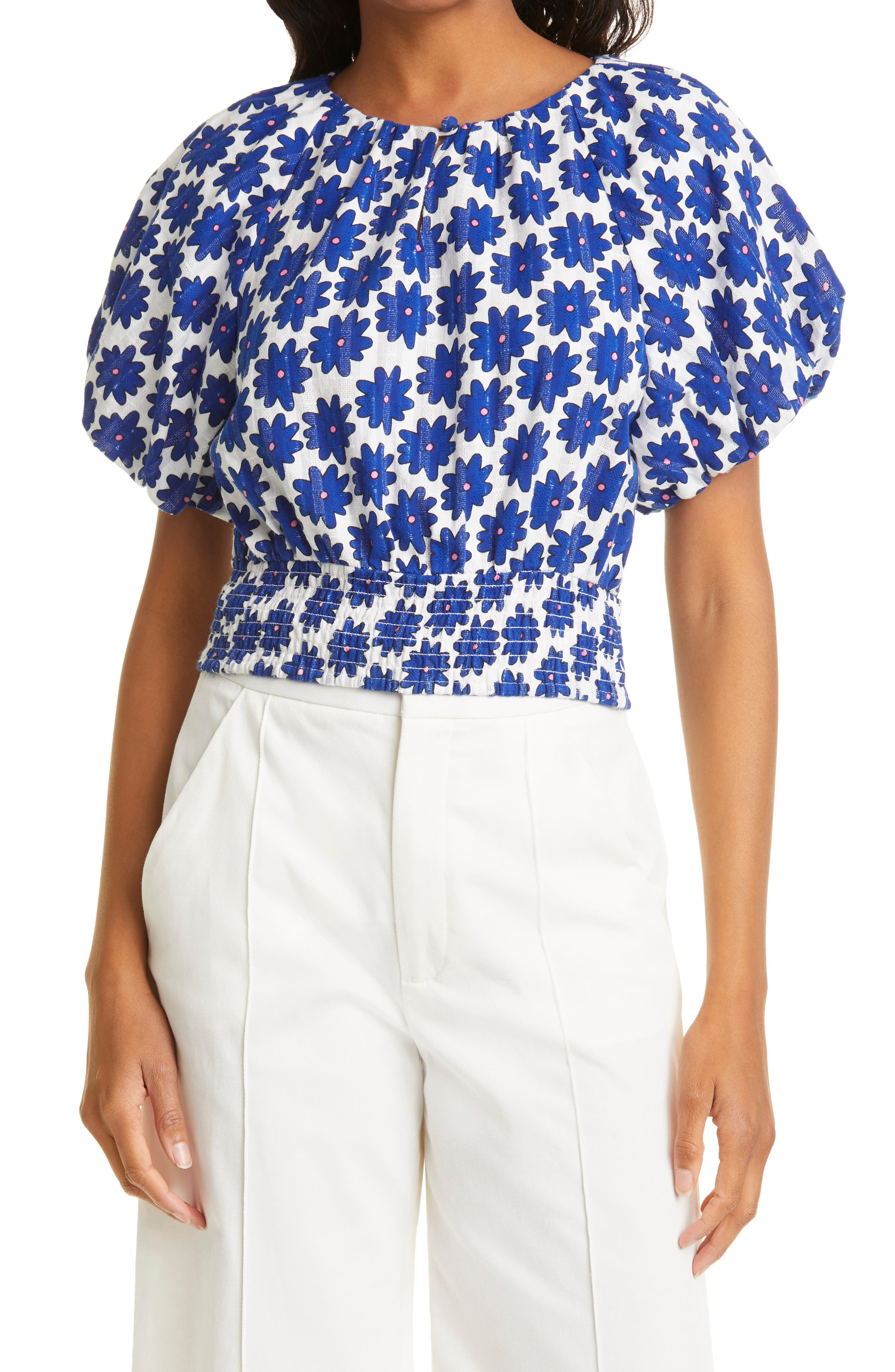 Lucy Floral Print Top