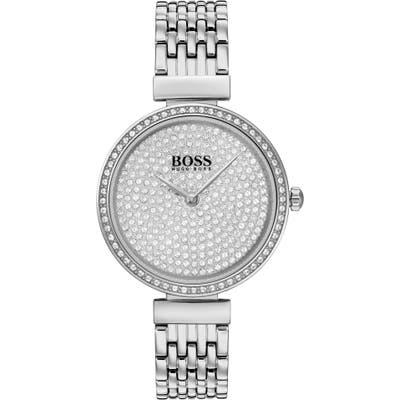 Boss Celebration Pave Bracelet Watch, 30Mm