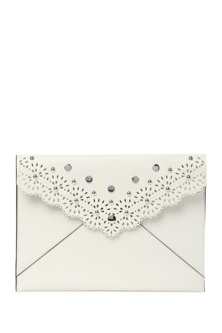 Image of Rebecca Minkoff Leo Leather Envelope Clutch