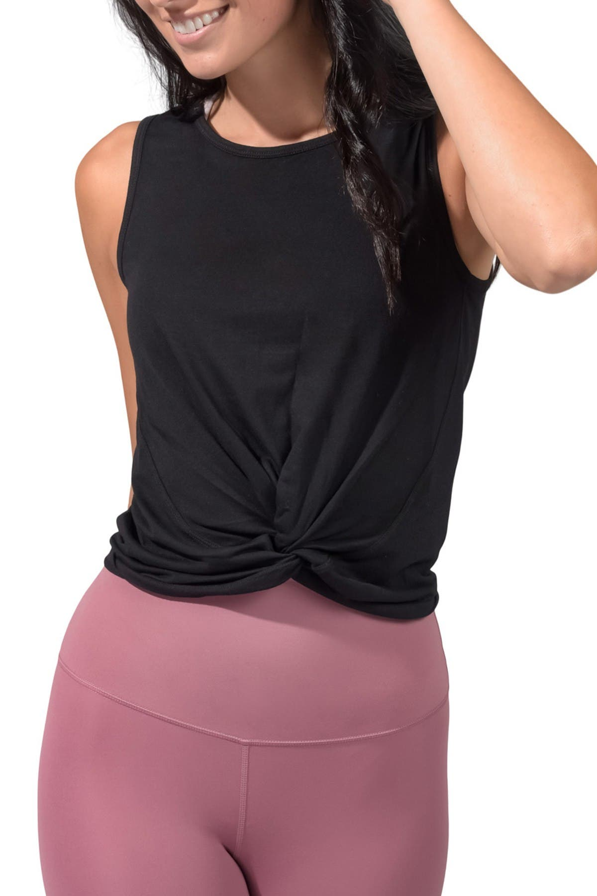 Image of 90 Degree By Reflex Twist Front Tank Top