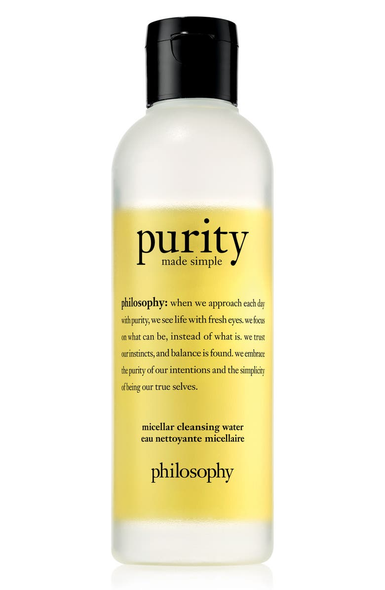 PHILOSOPHY purity made simple micellar water, Main, color, NO COLOR