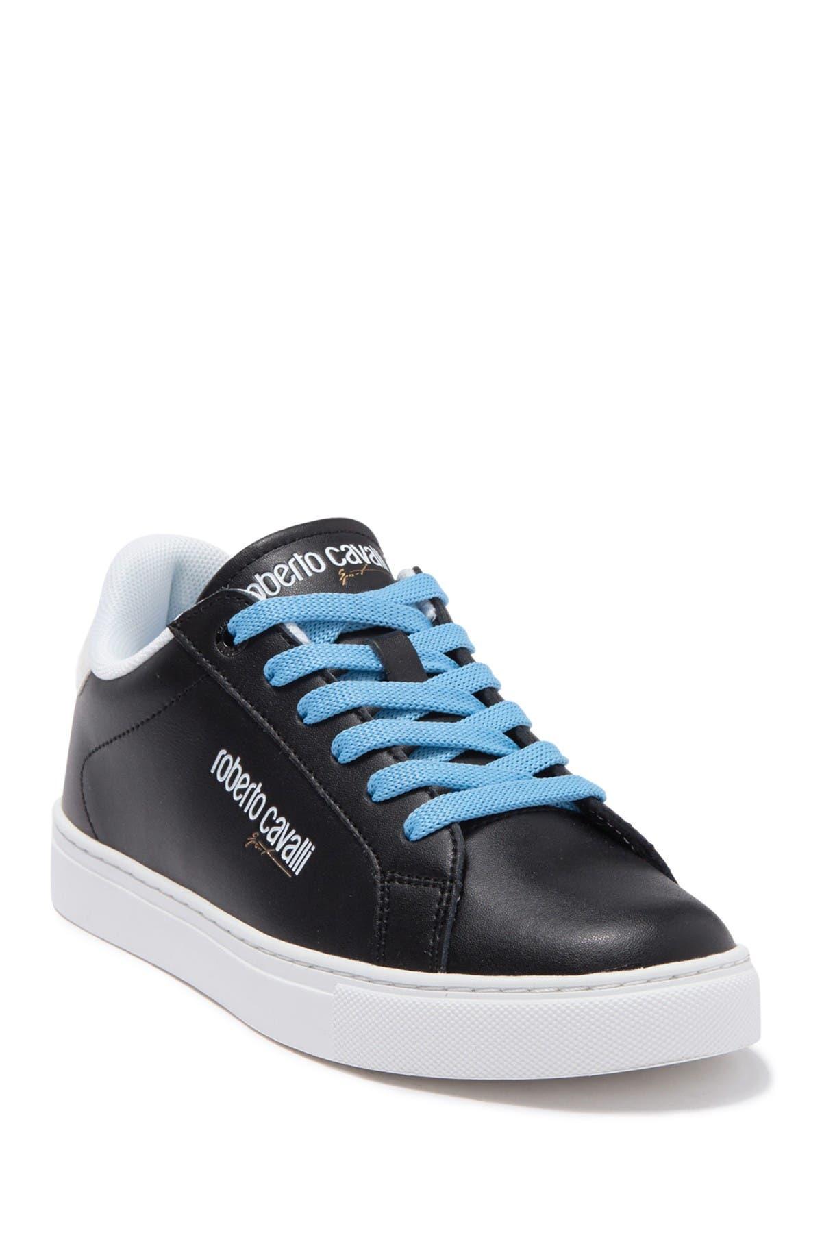 Image of Roberto Cavalli Brand Detailed Sneaker