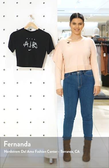 Sportswear Slim Crop T-Shirt, sales video thumbnail