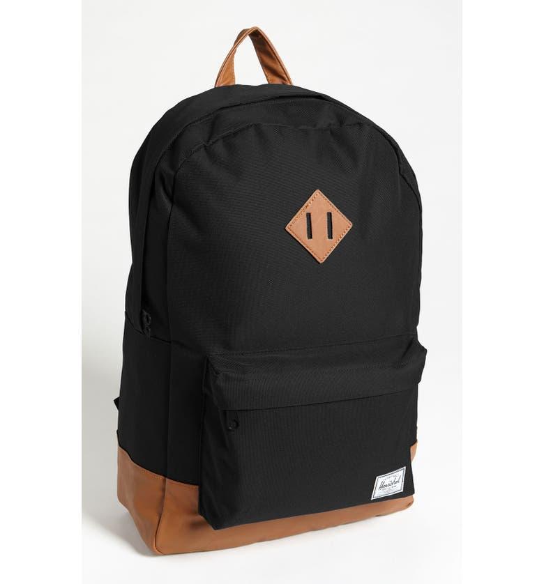 HERSCHEL SUPPLY CO. Heritage Backpack, Main, color, 001
