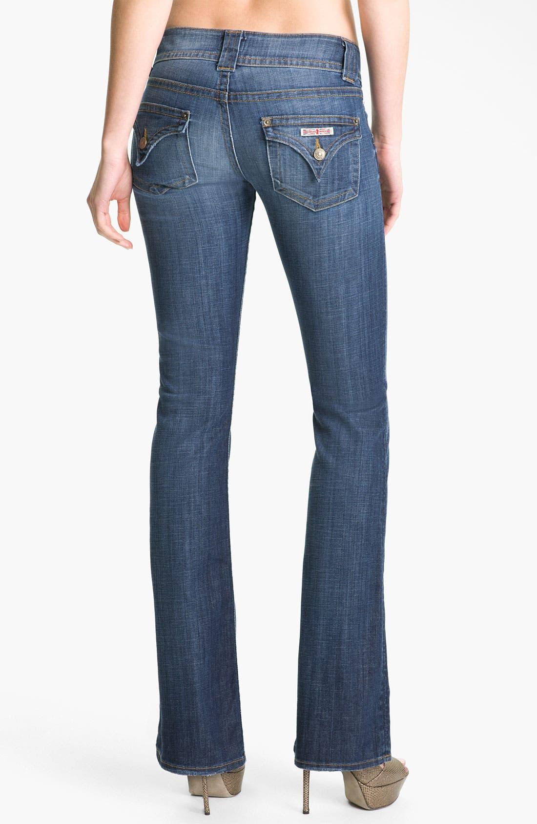 ,                             Signature Flap Pocket Bootcut Jeans,                             Alternate thumbnail 92, color,                             499