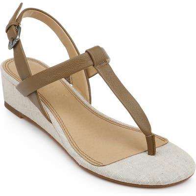 Splendid Avalon Wedge Sandal- Beige