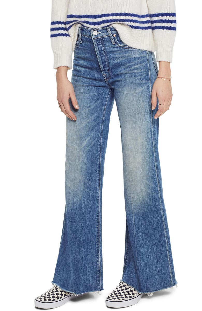 MOTHER The Tomcat High Waist Roller Fray Jeans, Main, color, 420