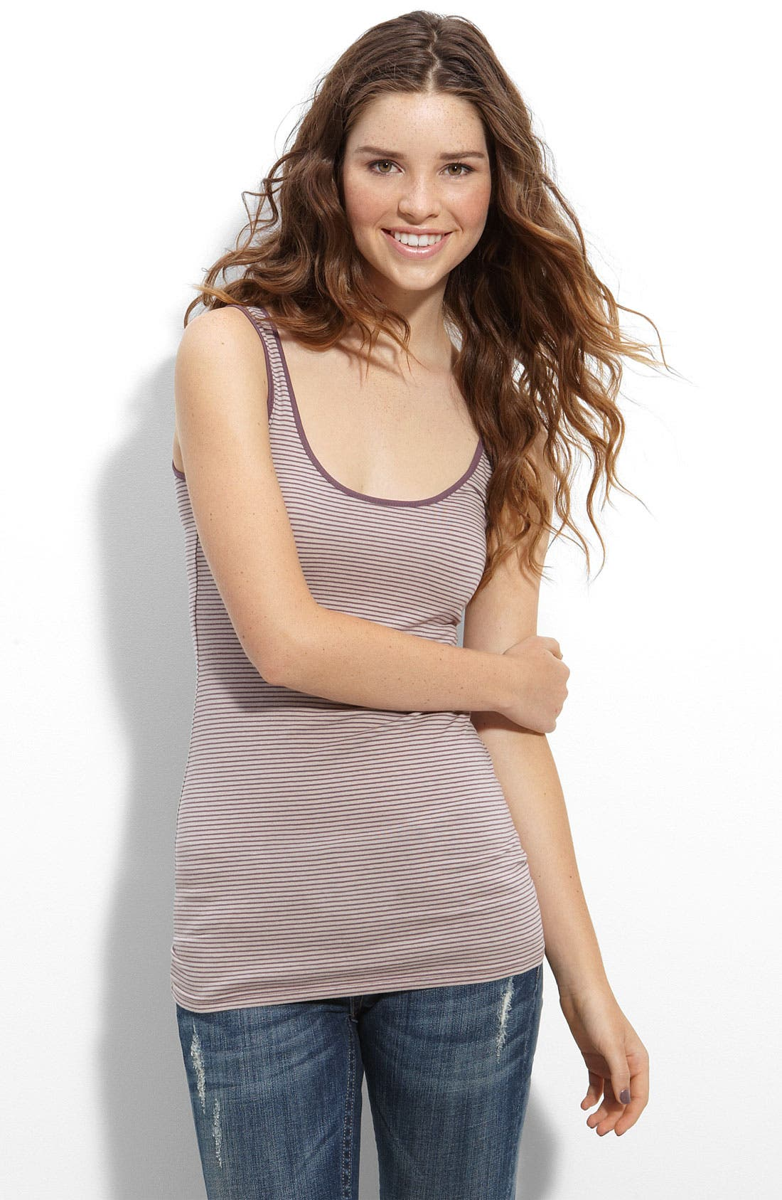 ,                             Double Scoop Neck Tank,                             Main thumbnail 97, color,                             271