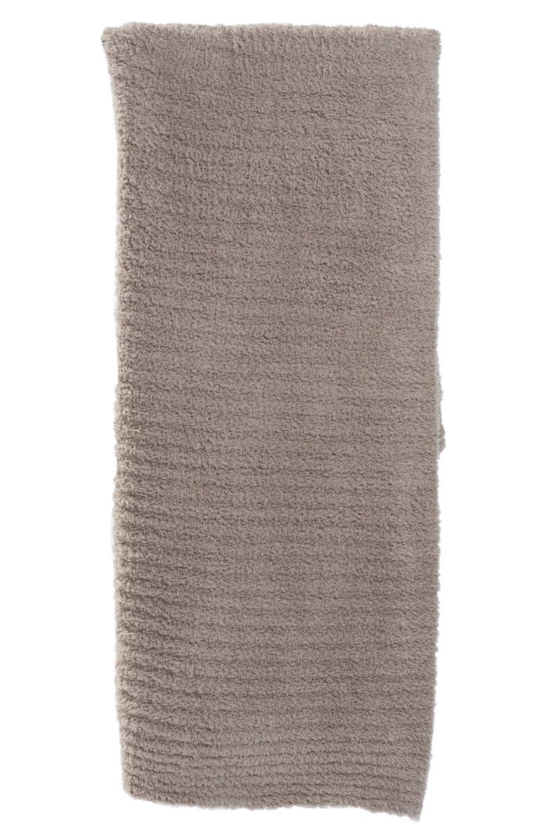 BAREFOOT DREAMS<SUP>®</SUP> 'CozyChic<sup>®</sup>' Ribbed Throw Blanket, Main, color, SAND