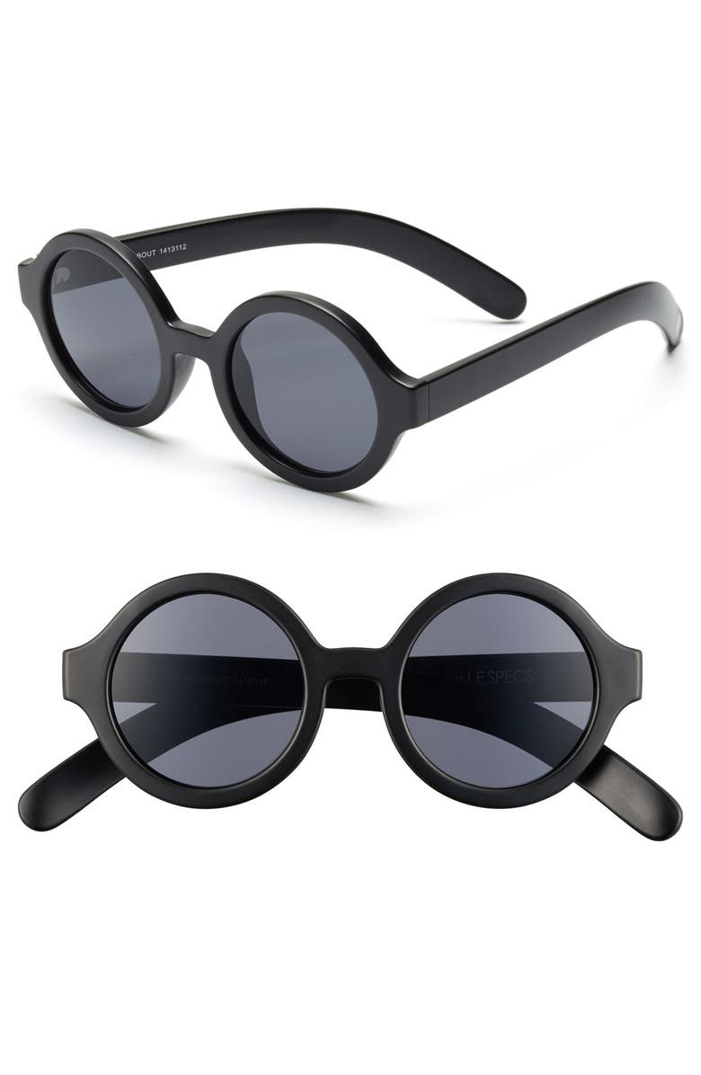 LE SPECS Craig and Karl x Le Specs 'Roundabout' 45mm Sunglasses, Main, color, 001