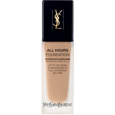 Yves Saint Laurent All Hours Full Coverage Matte Foundation Spf 20 - B45 Bisque