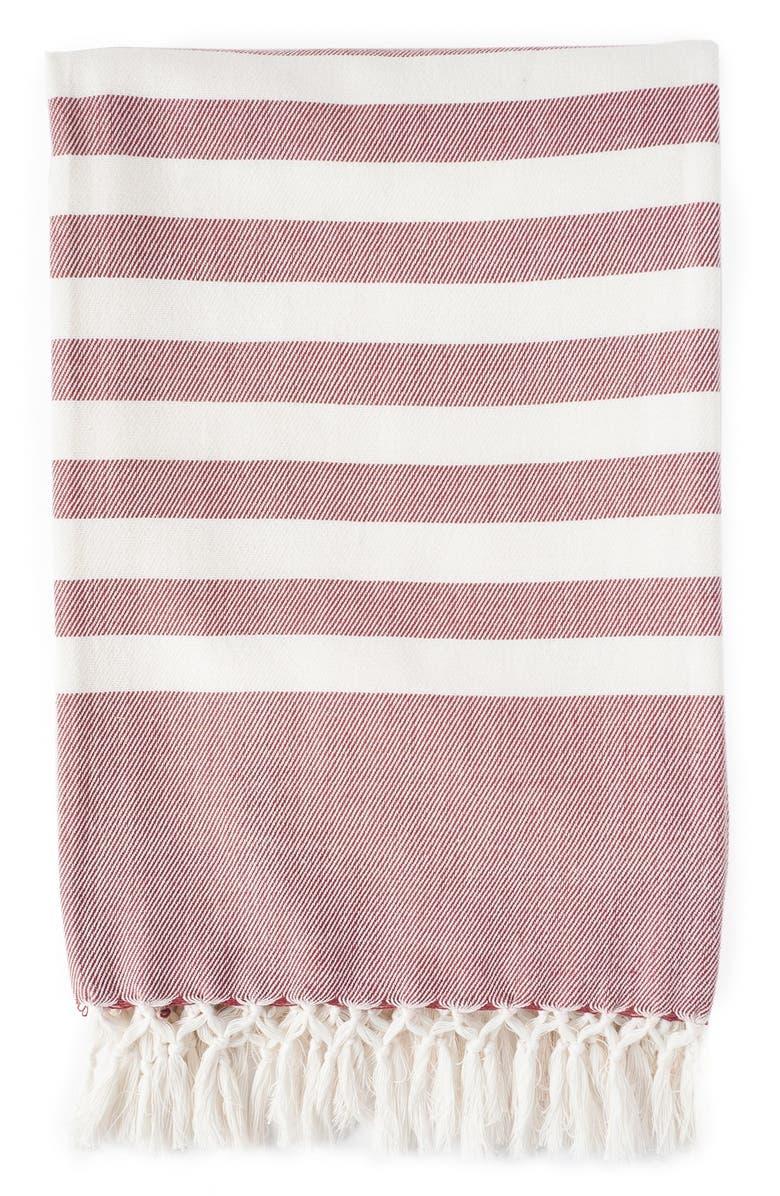 ZESTT Stripe Throw, Main, color, 600