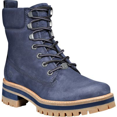 Timberland Courmayeur Valley Water Resistant Hiking Boot, Blue