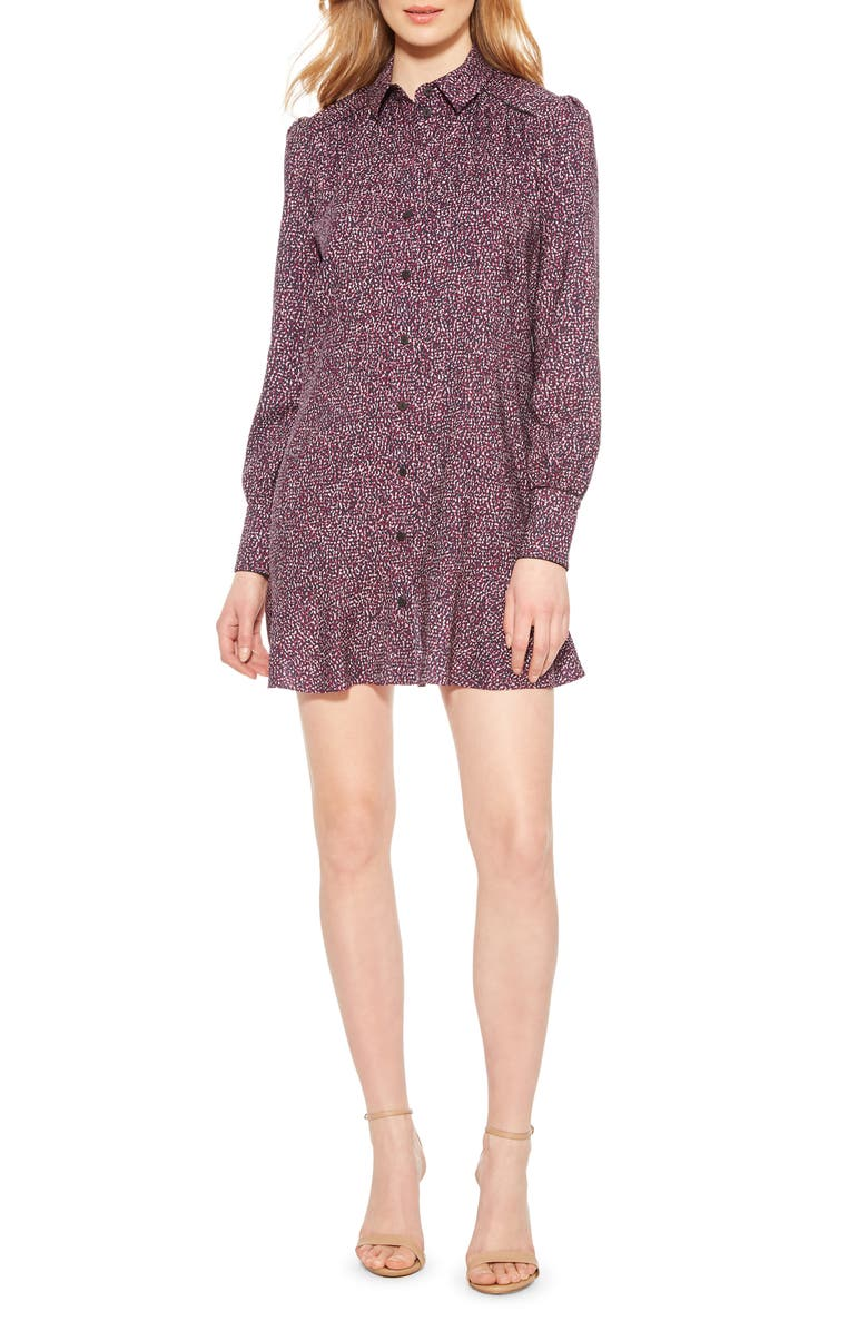 PARKER Norma Long Sleeve Shirtdress, Main, color, 560