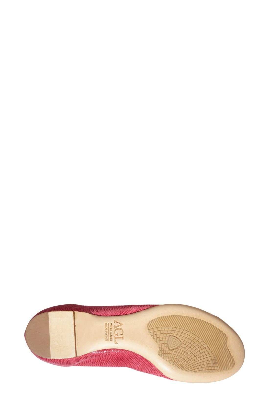 ,                             Cap Toe Ballet Flat,                             Alternate thumbnail 290, color,                             605