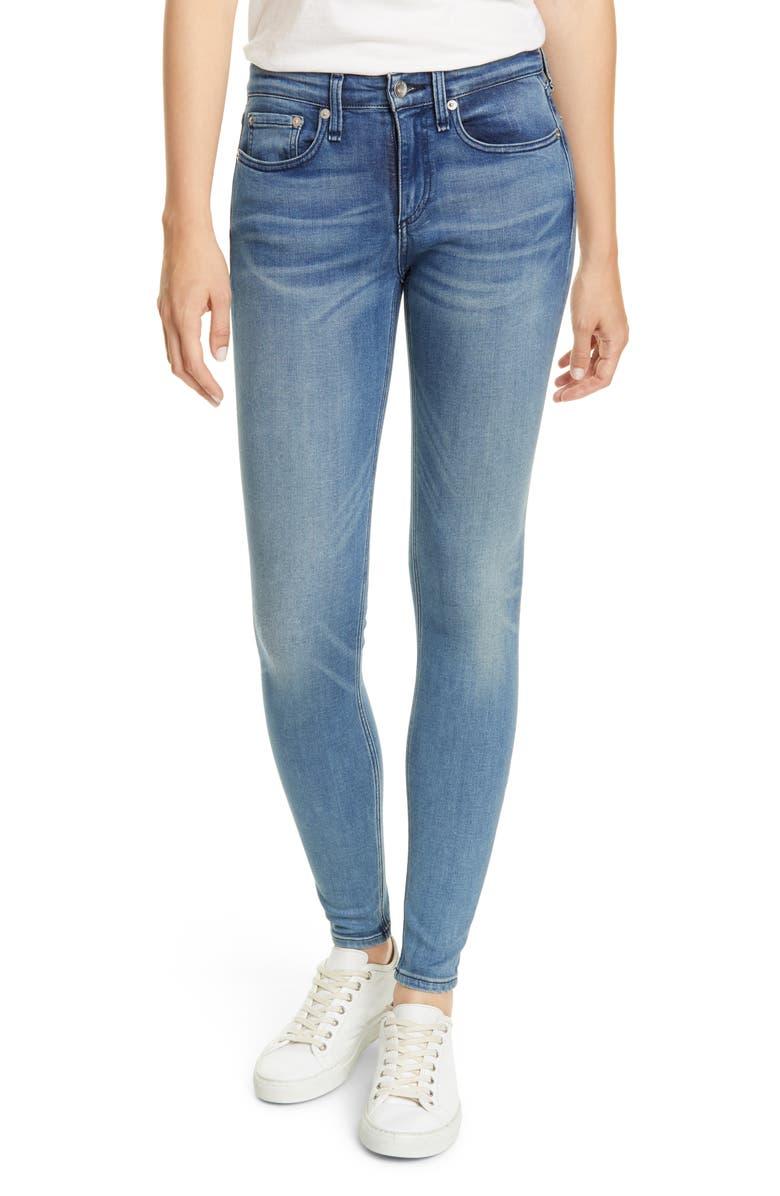 RAG & BONE Cate Skinny Jeans, Main, color, VAIL