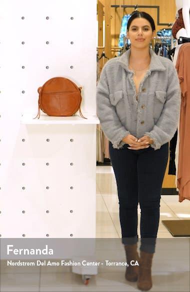 Groove Calfskin Leather Crossbody Bag, sales video thumbnail