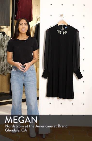 Embellished Collar Dress, sales video thumbnail