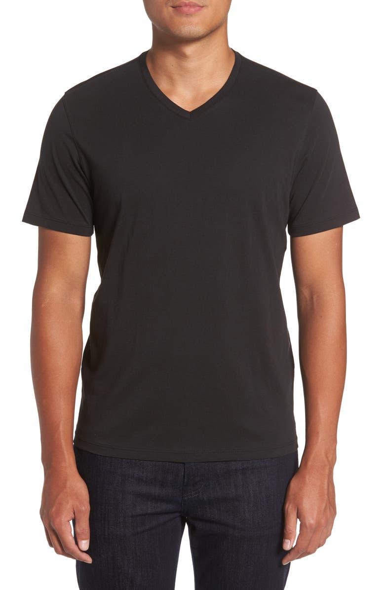 ZACHARY PRELL Mercer V-Neck T-Shirt, Main, color, 001