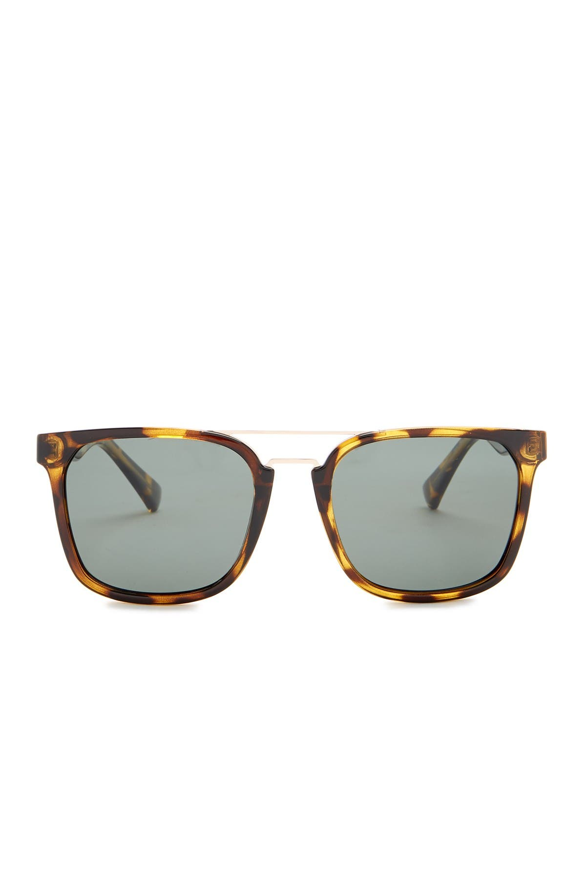 Image of Cole Haan 54mm Browbar Sunglasses