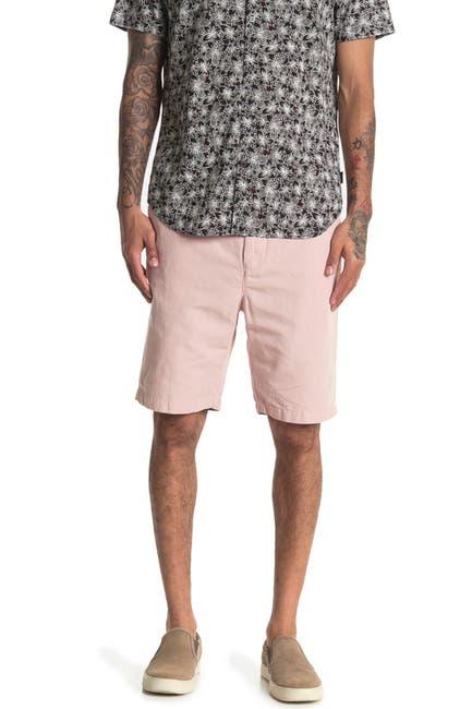 Image of John Varvatos Star USA Robbie Linen Blend Shorts