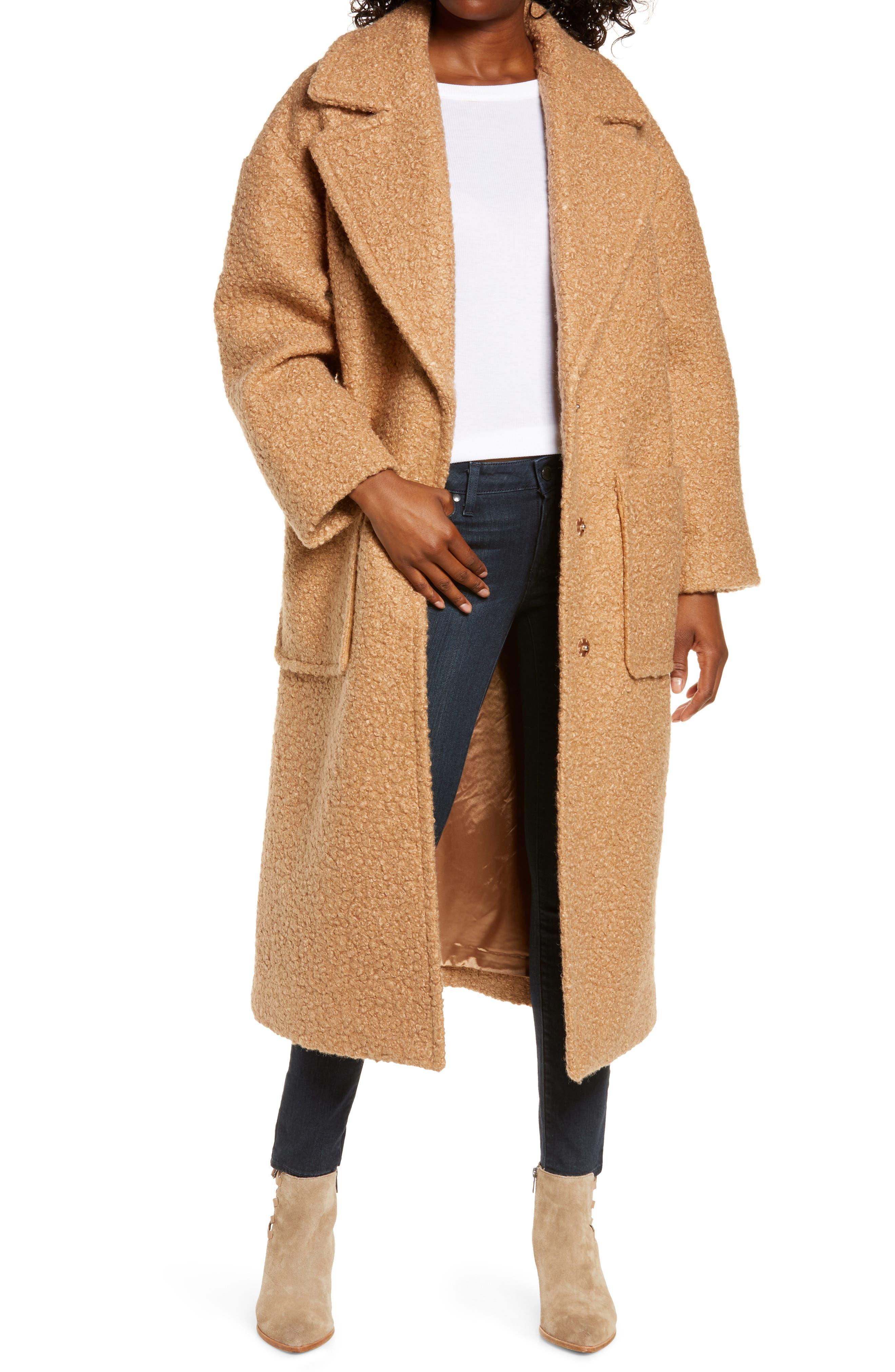 UGG® Hattie Long Faux Fur Coat | Nordstrom