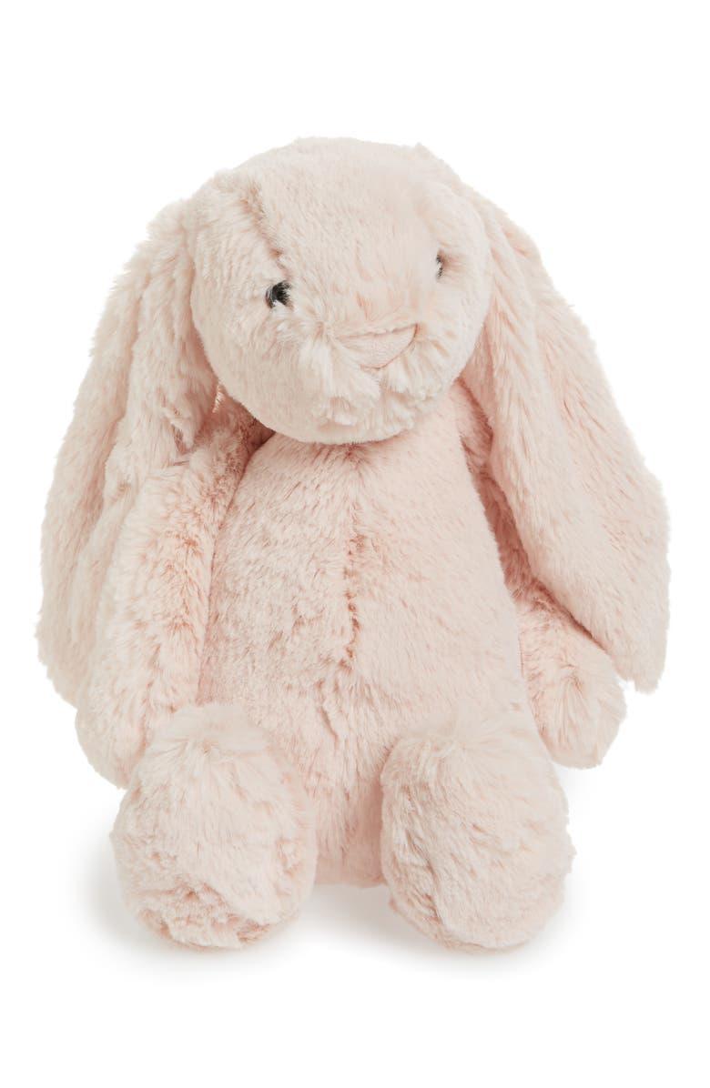 JELLYCAT Bashful Bunny Blush Stuffed Animal, Main, color, BLUSH