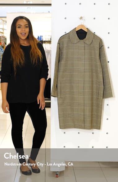 Vita Glen Plaid Coat, sales video thumbnail
