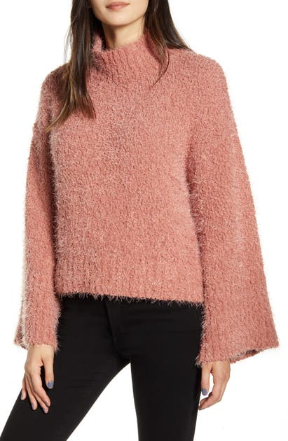 Cupcakes And Cashmere Tops DANYON BOUCLE PULLOVER