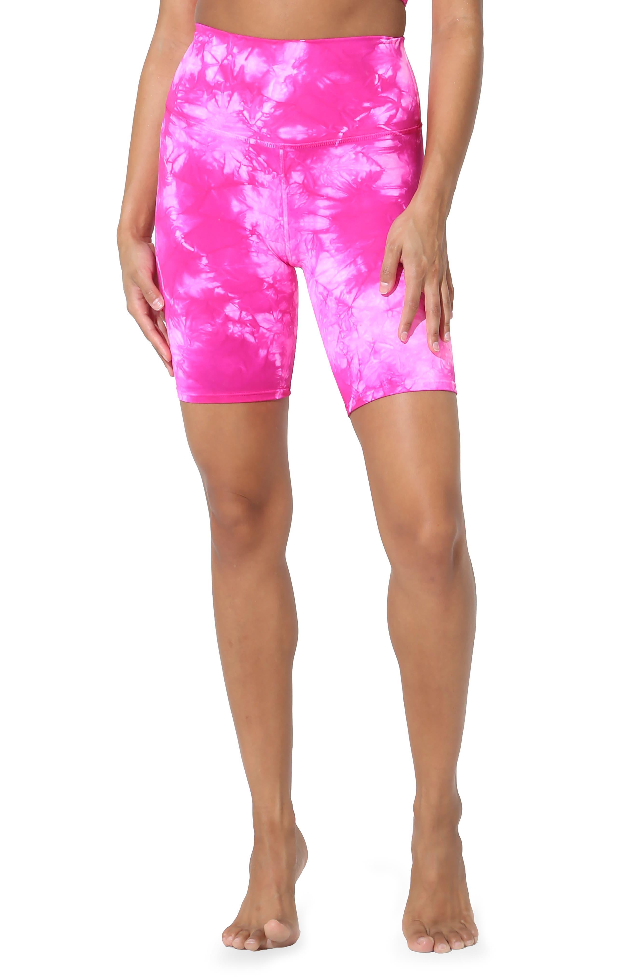 Cali Tie Dye Biker Shorts