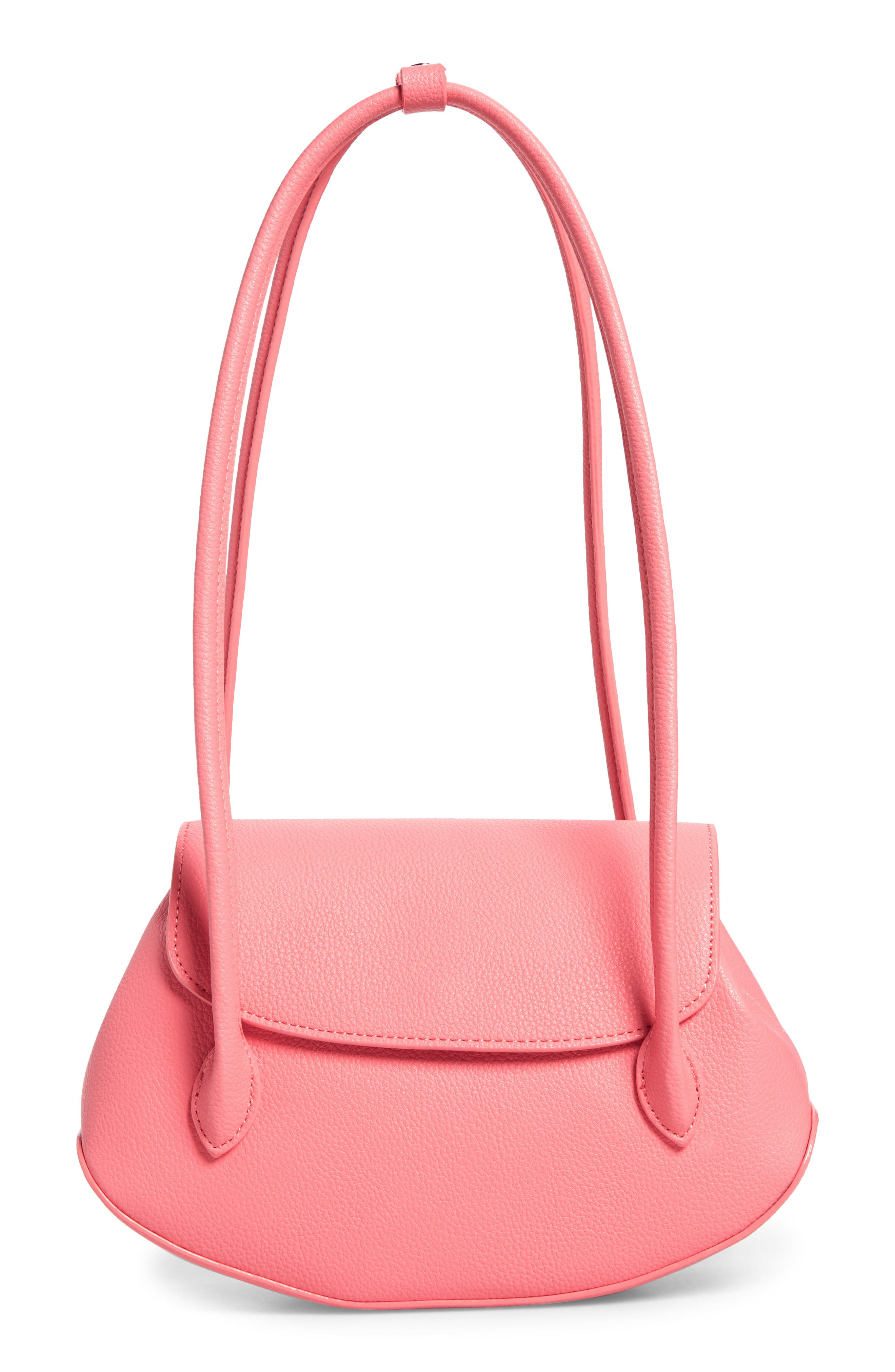 We Are Timeless Small Vegan Leather Shoulder Bag