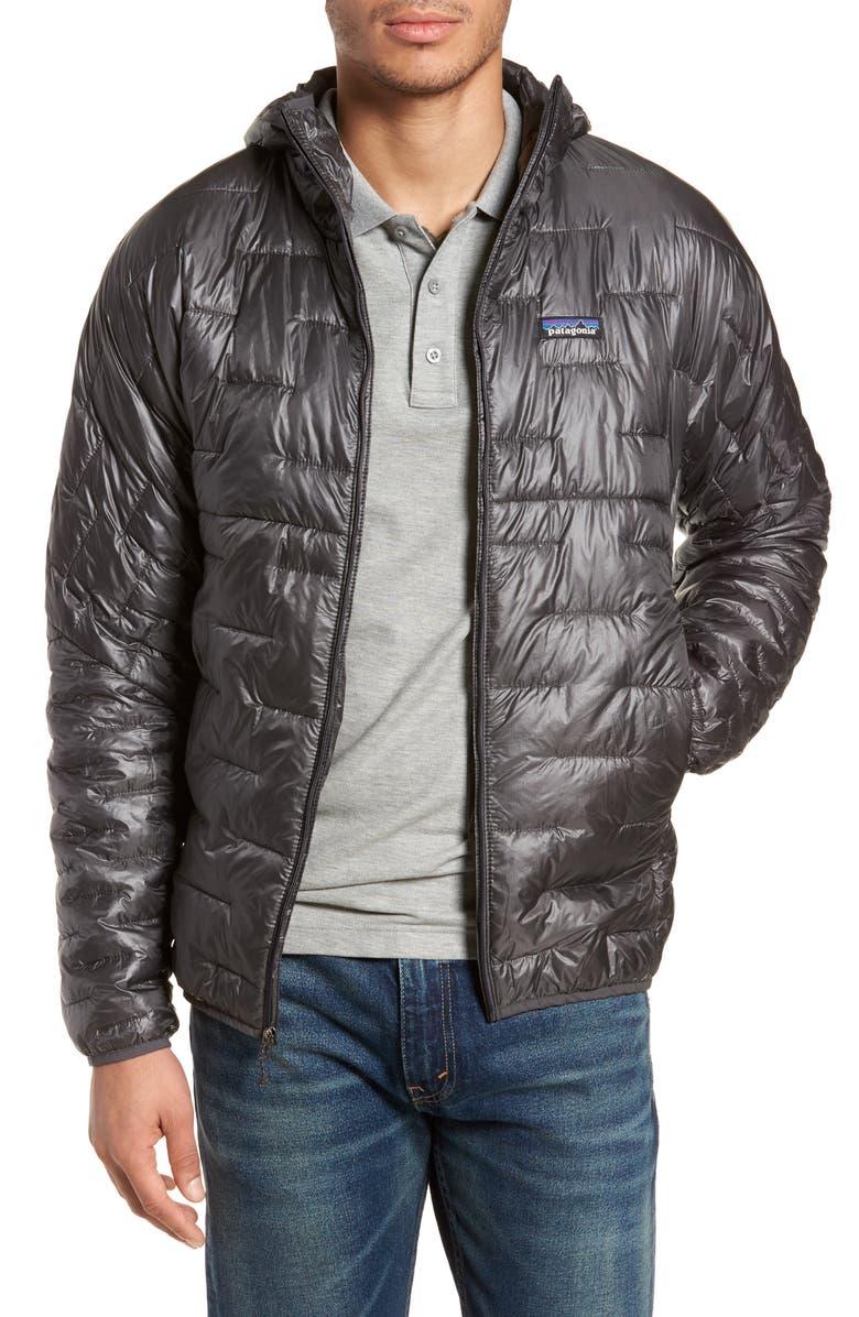 PATAGONIA Micro Puff Jacket, Main, color, FORGE GREY