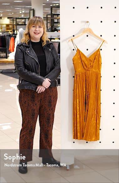 Pleat Skirt Sleeveless Dress, sales video thumbnail