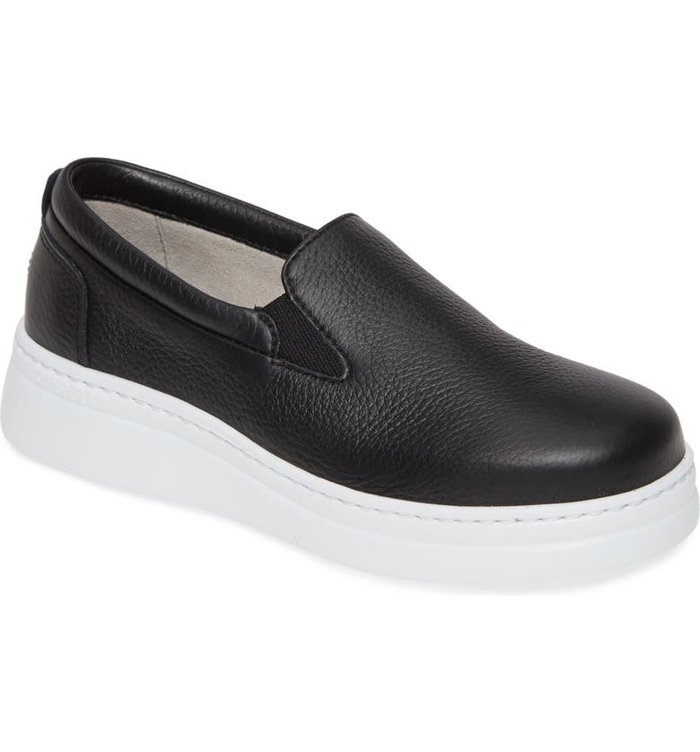 CAMPER Runner Up Sneaker, Main, color, BLACK LEATHER