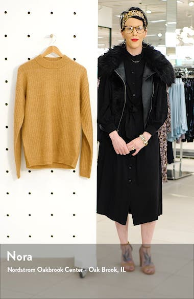 Teddy Slim Fit Mock Neck Sweater, sales video thumbnail