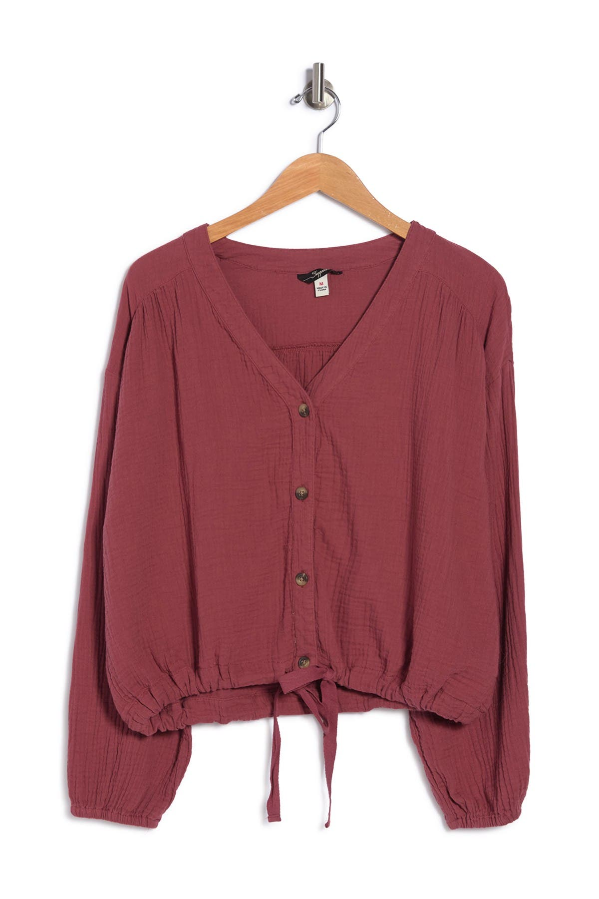 Image of SUPPLIES BY UNIONBAY Alma Long Sleeve Shirt