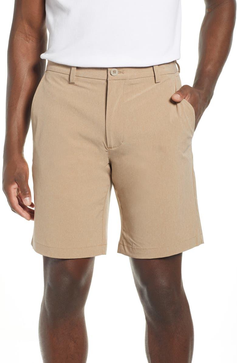 VINEYARD VINES Performance Breaker Shorts, Main, color, KHAKI