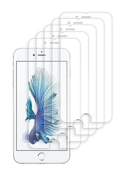 Image of ELEMENT WORKS Clear Tempered iPhone 6 plus/7 plus/8 plus Glass Screen Protector - Pack of 5