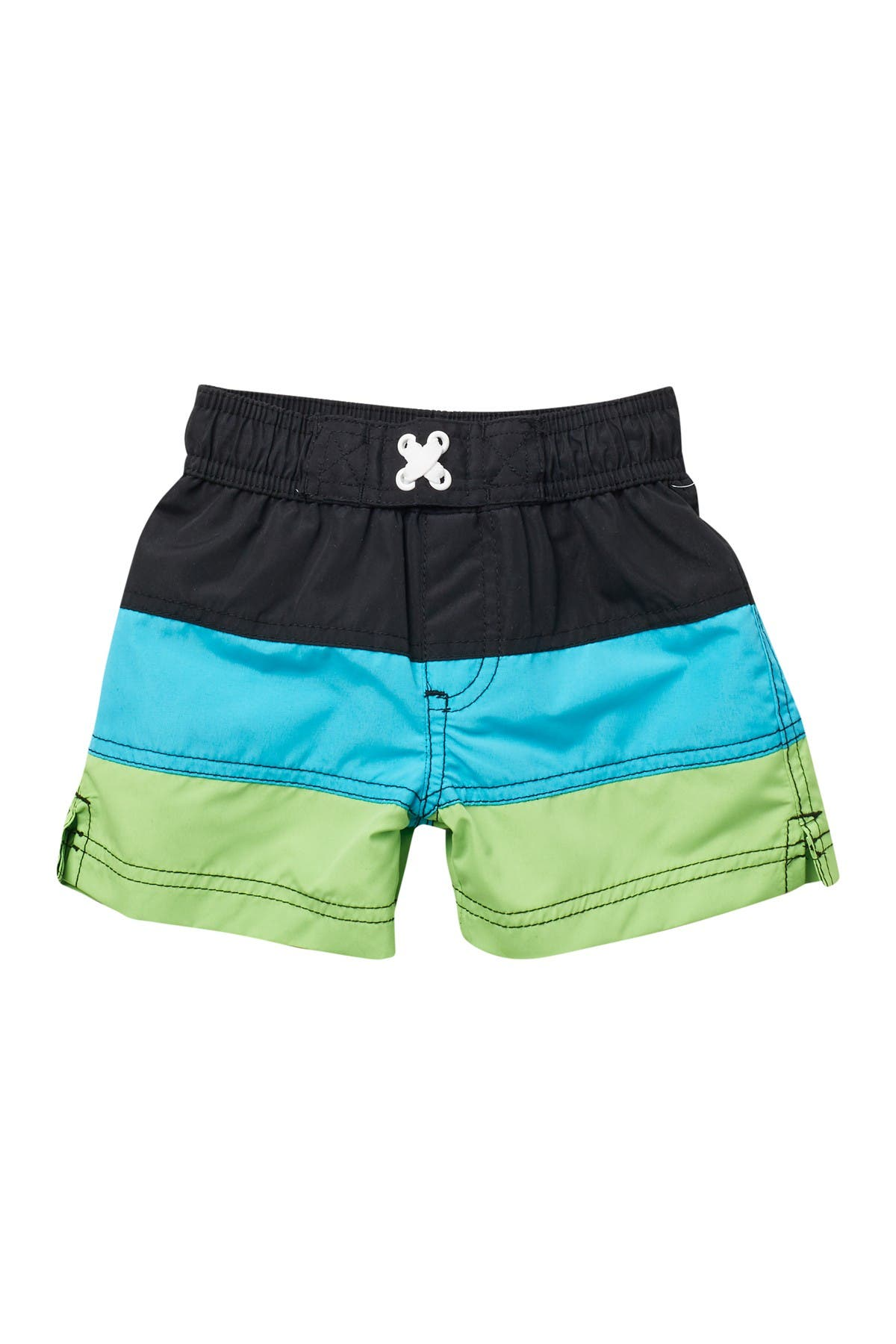 Image of iXtreme Color Block Swim Trunks