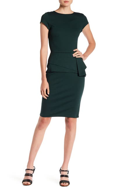 Image of Love...Ady Ruffle Cap Sleeve Sheath Dress