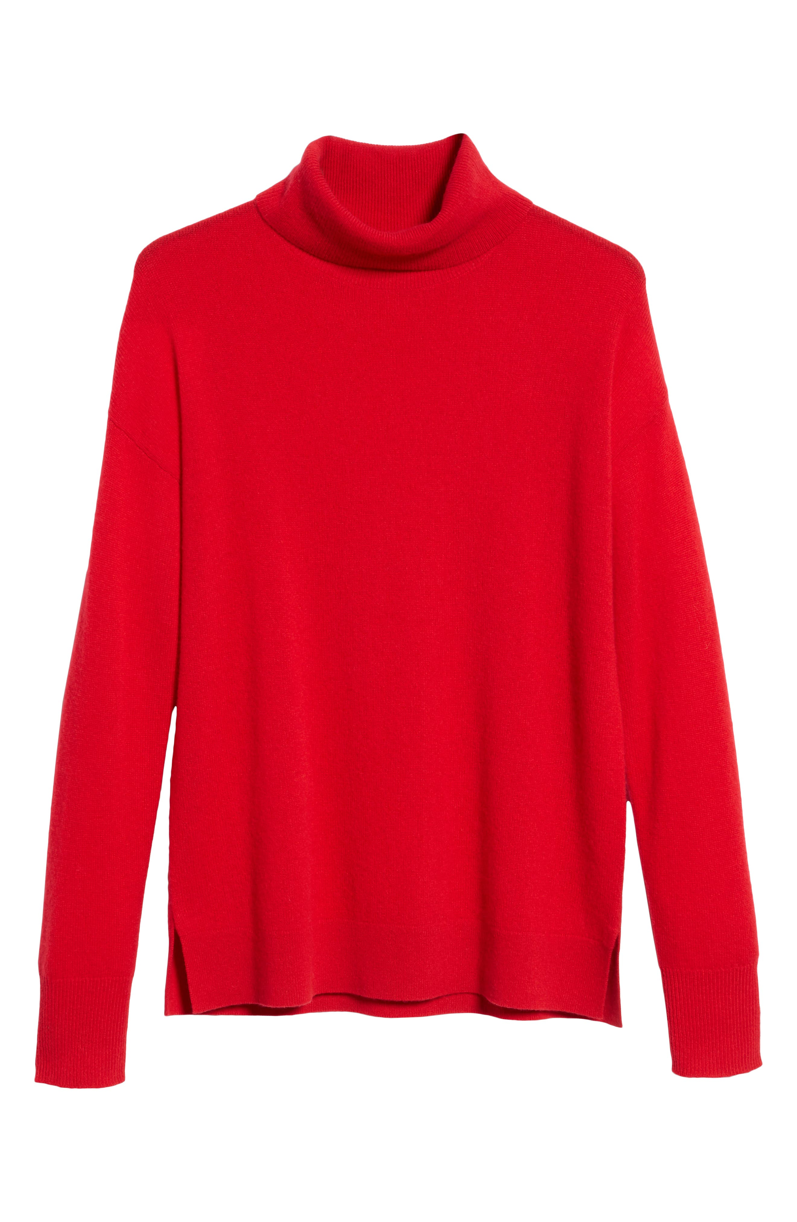 ,                             Cashmere Turtleneck Sweater,                             Alternate thumbnail 36, color,                             610