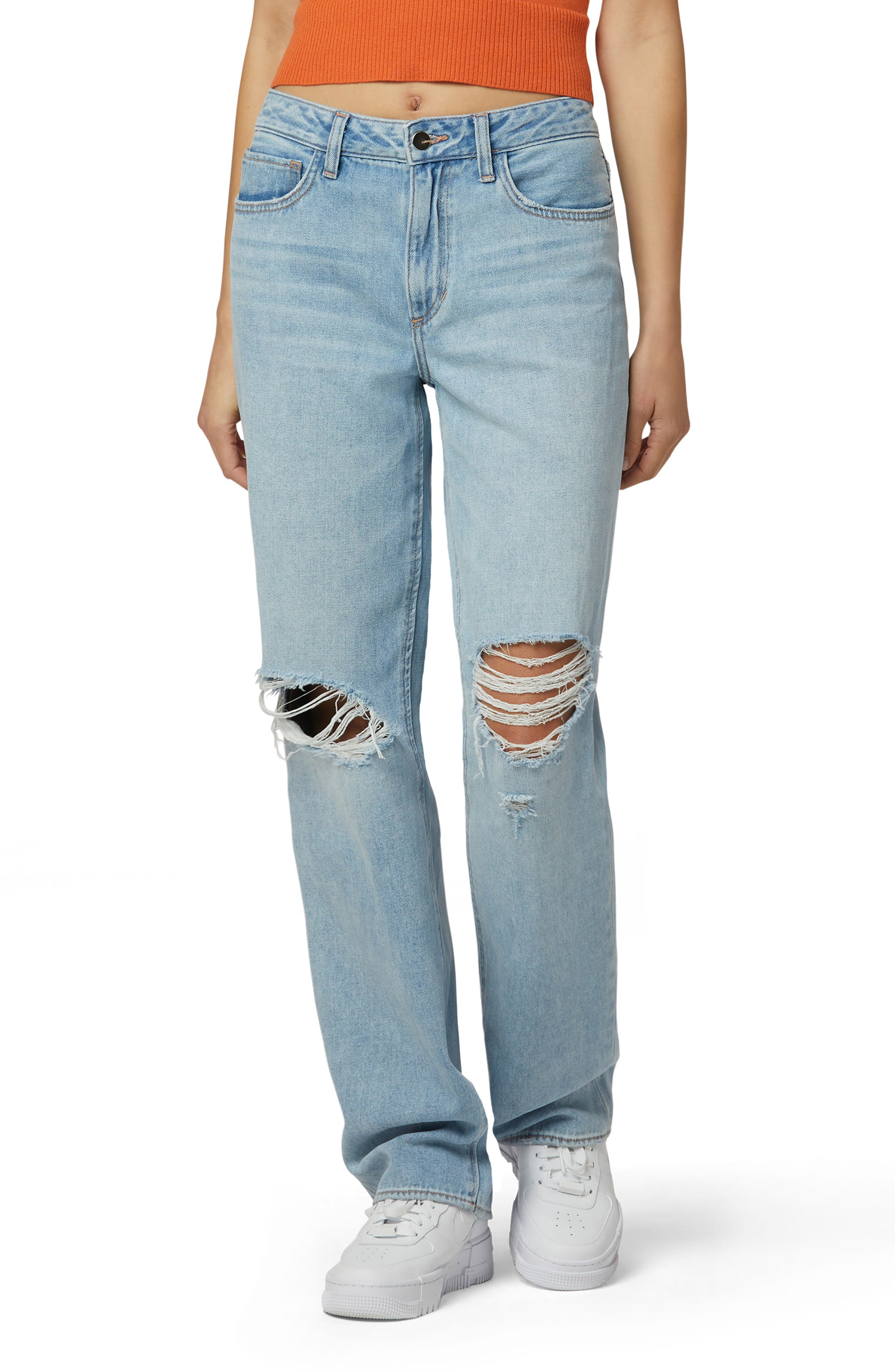 The Tommy Ripped Boyfriend Jeans