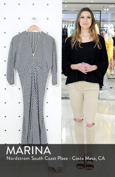 Rava Mix Stripe Midi Dress, sales video thumbnail
