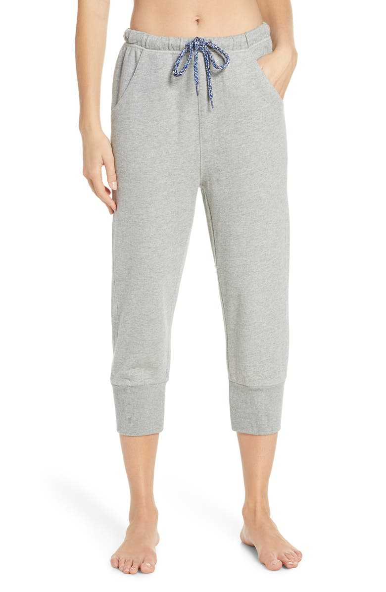 FREE PEOPLE MOVEMENT Counterpunch Crop Jogger Pants, Main, color, GREY COMBO
